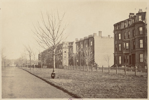 Commonwealth Avenue. South side
