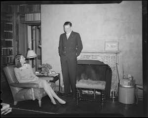 Henry Cabot Lodge, Jr., and wife