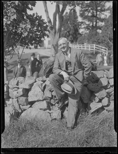 Alf Landon in Massachusetts