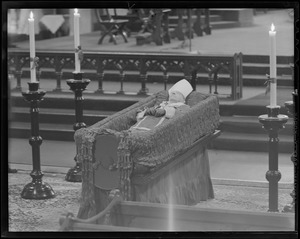 Funeral of Cardinal O'Connell, Holy Cross Cathedral
