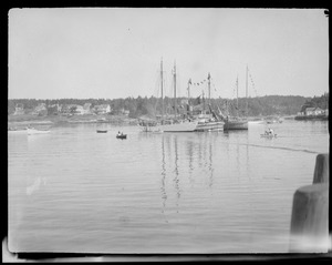 Macmillan arrives at Wiscasset, ME