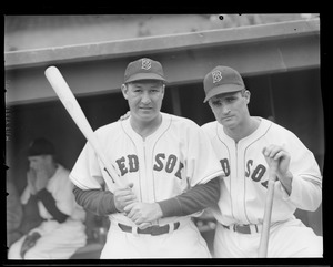 Bobby Doerr and teammate, 1946 World Series