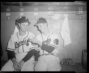 Boston Braves - J. Sain & W. Spahn