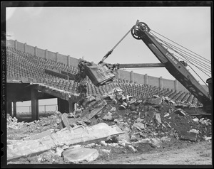 Braves Field - demolition