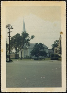 Old South Church, South Weymouth, Mass. August 1967
