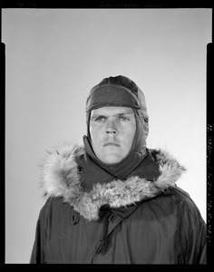 CEMEL, clothing, cold-weather, headgear, cold-dry (parka down, cap with cheek + ear covers down)