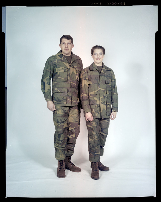 Men's and women's uniforms