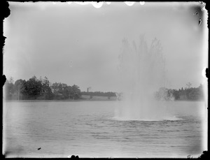 Fresh Pond fountain