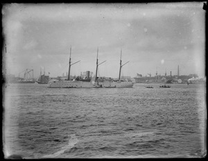 Ships in harbor no. 2