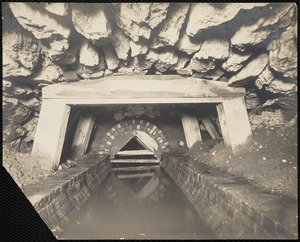 Sewer with water