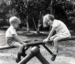 Playing on a Teeter-Totter