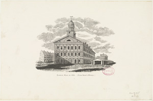 Faneuil Hall in 1826