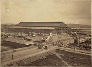 Boston Coliseum. Boston Peace Jubilee, June 15-19, 1869