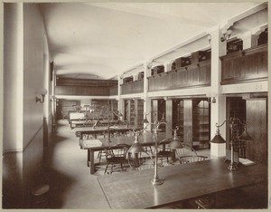 Boston, Massachusetts. Public library. Patent room