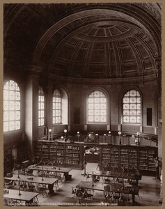 Boston Public Library. Bates Hall. South end