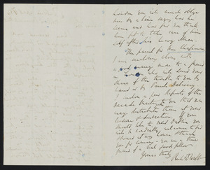 Letter from Richard D. Webb, Dublin, to W. C. B. Fifield, April 17, [18]54