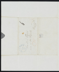 Letter from Charles Follen, Milton, to H. C. Fifield, July 25, 1838