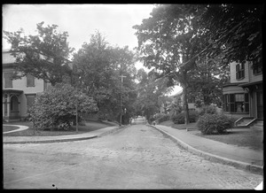 Jamaica Plain, Massachusetts. Harris Avenue from Alveston
