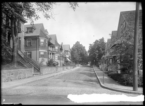 Burr Street. Jamaica Plain, Massachusetts