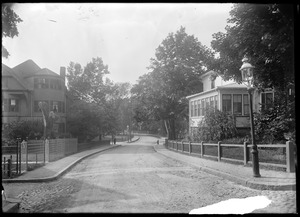 Jamaica Plain, Massachusetts. Greenough Ave. from Alveston