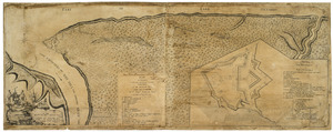 Plan of Niagara with the adjacent country surrendered to the English army under the command of Sr. Willm: Johnson Bart: on the 25th of July 1759