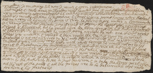 Letter from John Cotton to Rowland Cotton, 1696 June 24