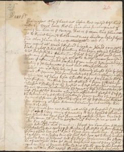 Letter from John Callender, Newport, to Nathan Prince, Cambridge, 1732 September 19