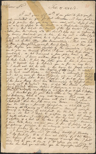 Letter from Samuel Johnson to Nathan Prince, 1744/1745 February 18