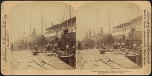 Transport ships, Port Tampa, Florida, U.S.A.