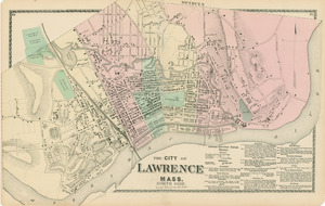 The city of Lawrence, Mass