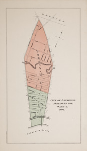 City of Lawrence, precincts 3 & 4, ward 2