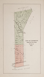 City of Lawrence, precincts 5 & 6, ward 3