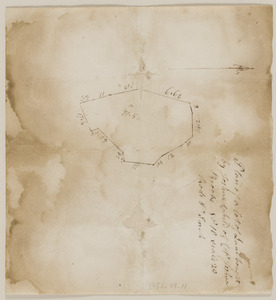 Plan of land conveyed by Capt. Joshua Brooks to Joshua Child