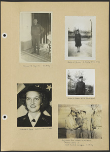 World War II Memorial Scrapbook, 1942-1948