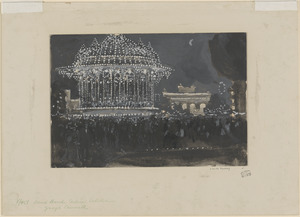 Band stand, Indian exhibition