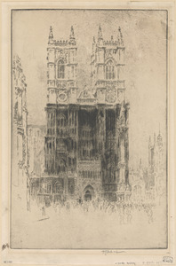 West front, Westminster Abbey