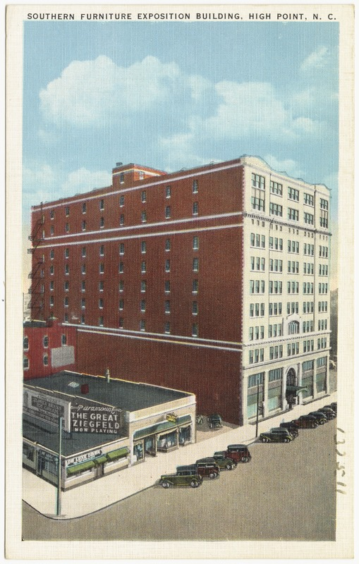 Southern Furniture Exposition Building, High Point, N. C.