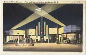 Norment Motor Co., Inc. -- Ford and Lincoln-Zephyr, Lumberton, N. C.