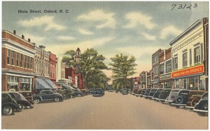 Main Street, Oxford, N. C.