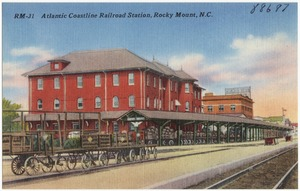 Atlantic Coastline Railroad Station, Rocky Mount, N.C.