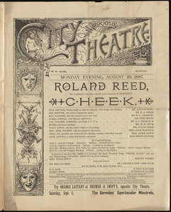 Cheek-Roland Reed--Aug 29, 1887