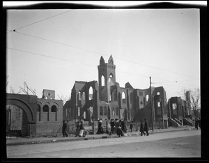 Baptist Church after the Great Chelsea Fire