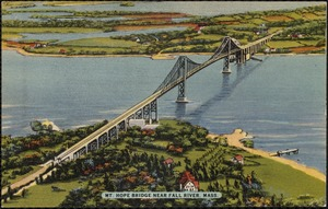 Mt. Hope Bridge near Fall River, Mass.