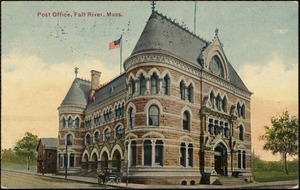 Post Office, Fall River, Mass.