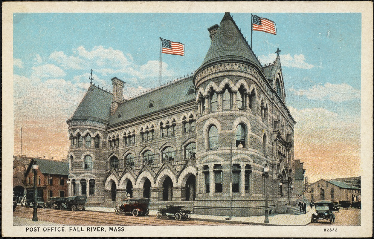 Post Office. Fall River, Mass. - Digital Commonwealth