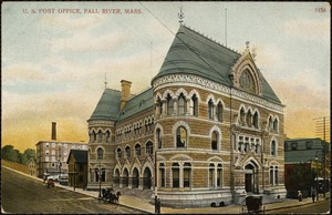 U.S. Post Office, Fall River, Mass.