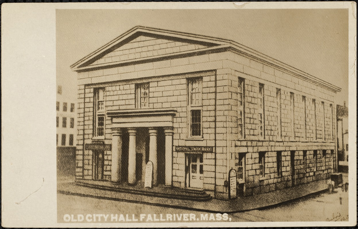 Old City Hall, Fall River, Mass. - Digital Commonwealth
