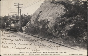 Ledge on Dartmouth and Westport Railway