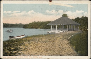 Lake Noouochoke, Lincoln Park, Fall River, Mass.