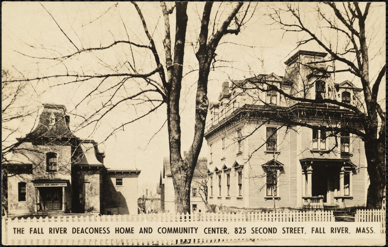 The Fall River deaconess home and community center, 825 Second Street, Fall River, Mass.